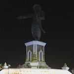 โปเกมอนโก: อาณาจักรสีน้ำเงิน สู้ที่ยิมรูปเจ้าอนุวงศ์เวียงจันทน์ประเทศลาว